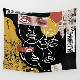 Manifesto Collage Wall Tapestry