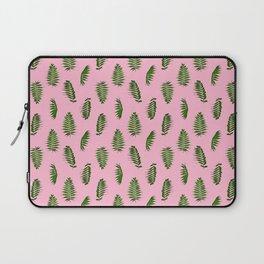 Fern pattern pink Laptop Sleeve