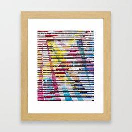 Lines 5 Framed Art Print
