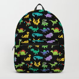 Derpy Dinosaurs Pattern Backpack