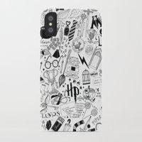 hogwarts iPhone & iPod Cases featuring Hogwarts, Hogwarts, Hoggy Warty Hogwarts by girlinplaits