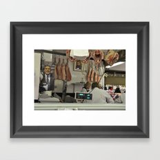 Meat  Framed Art Print