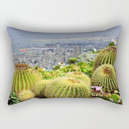 Spectators Rectangular Pillow