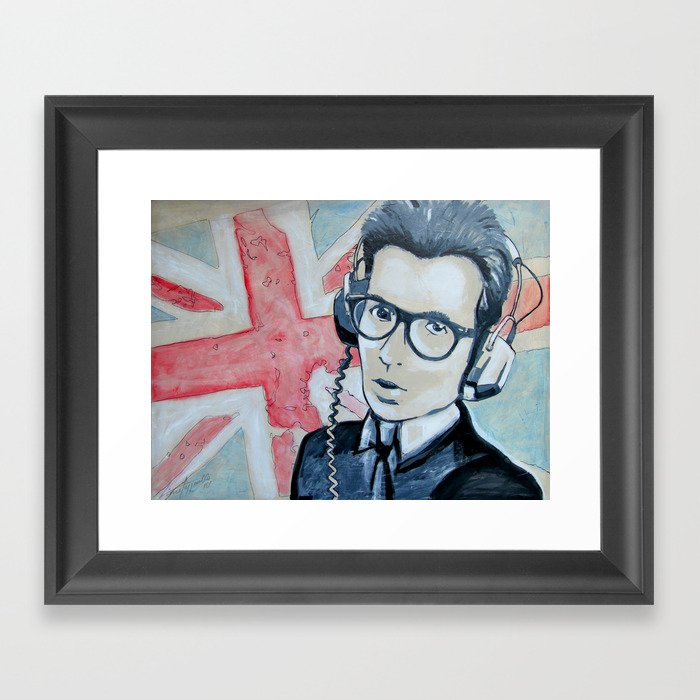 UNION JACK Framed Art Print