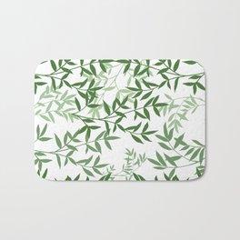 Branching out greenery Bath Mat