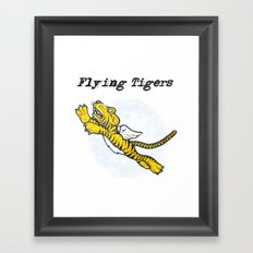 Flying Tigers Framed Art Print