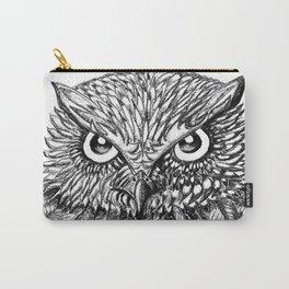 Fierce Owl Carry-All Pouch