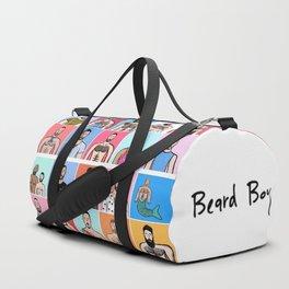 Beard Boy: Collage Duffle Bag
