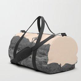 Joshua Tree in Nude Duffle Bag