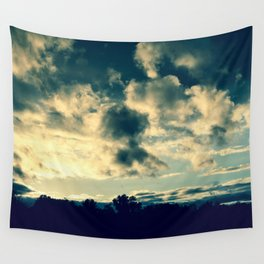 The Clouds Above Wall Tapestry