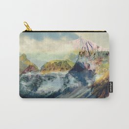 Peaceful mountain landscape Carry-All Pouch