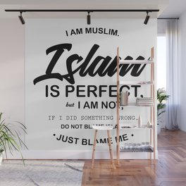 I Am Muslim Wall Mural