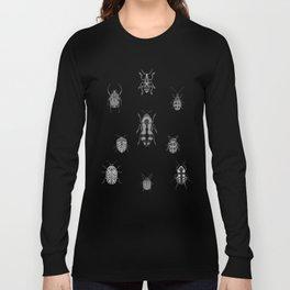 Beautiful Bugs Black Long Sleeve T-shirt
