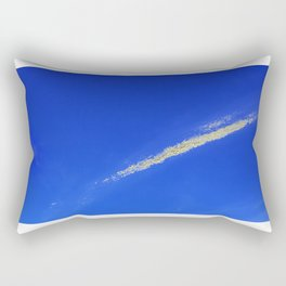 Flash of gold in the sky Rectangular Pillow