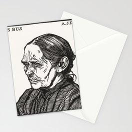 Portrait of Lijs Bus (1916) by Julie de Graag (1877-1924) Stationery Cards