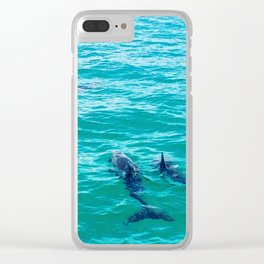 Dolphins of the Keys Clear iPhone Case