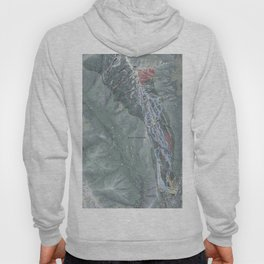 Aspen Highlands Resort Trail Map Hoody