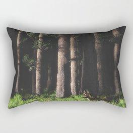 Shadow Forest Rectangular Pillow