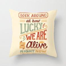 Look Around Throw Pillow