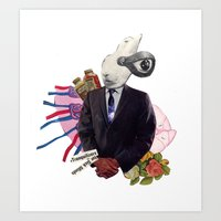 sick minds Art Print