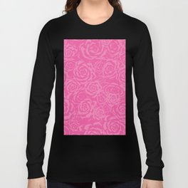 Succulent Stamp - Pinks #212 Long Sleeve T-shirt