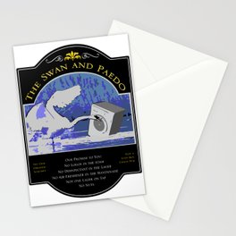 The Swan and Paedo Stationery Cards
