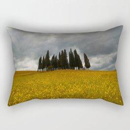 Golden fields of Tuscany Rectangular Pillow