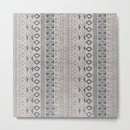 Adobe in Taupe Metal Print