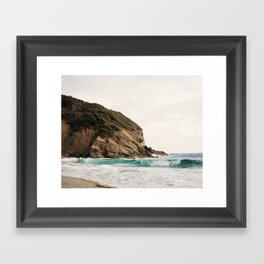 Strands Beach, Dana Point Framed Art Print