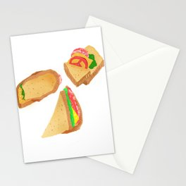 Akward Sandwich Stationery Cards