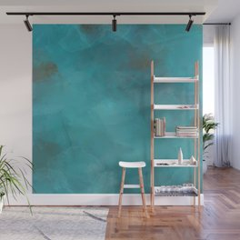 Turquoise Gems Wall Mural