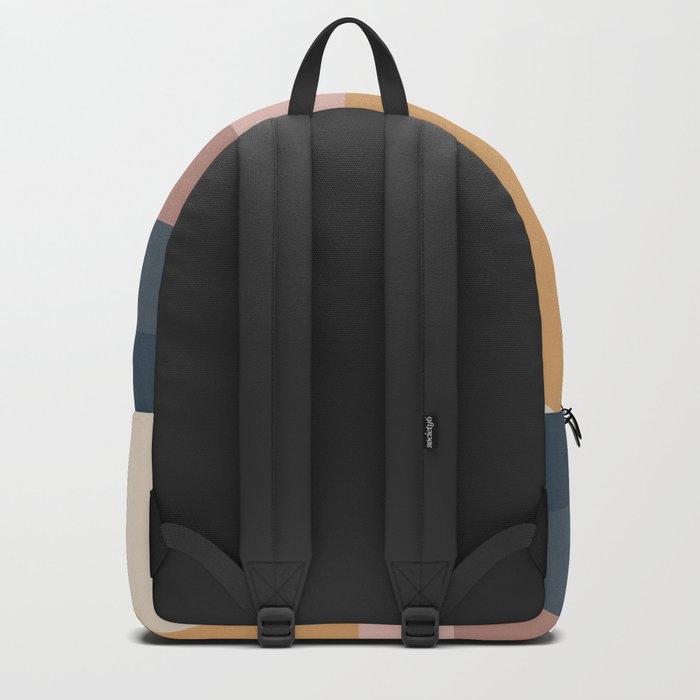 Minimal Retro Sunset - Neutral Backpack