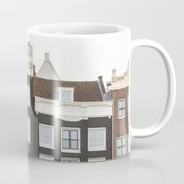 Amsterdam Canal Houses Photo | Historical Dutch City Architecture View Art Print | Holland Travel Photography Coffee Mug