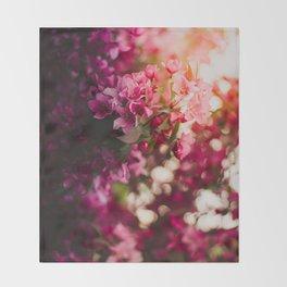 Beauty of Spring II Throw Blanket