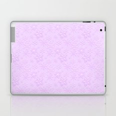 Dancing Purple Colored Snowflakes Laptop & iPad Skin
