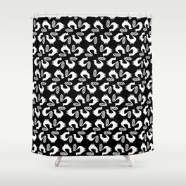 Snooty pattern Shower Curtain
