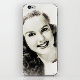 Deanna Durbin iPhone Skin
