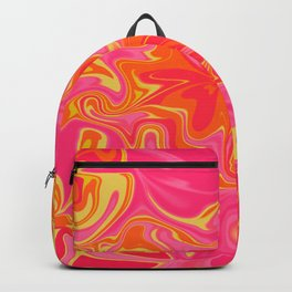 PSYCHEDELIC RETRO PINK  Backpack
