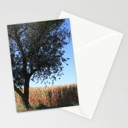 Corn Field in the Midwest Stationery Cards