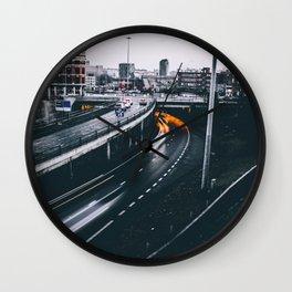Slow Motion Wall Clock