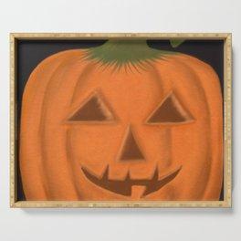 The Textured Pumpkin Serving Tray