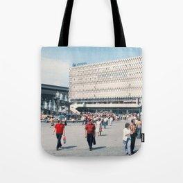 East Berlin Alexanderplatz  Tote Bag