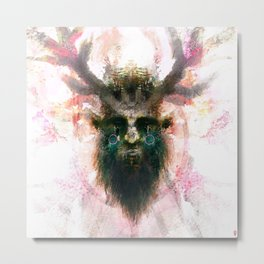Woodwose - Spirit of the Forest Metal Print