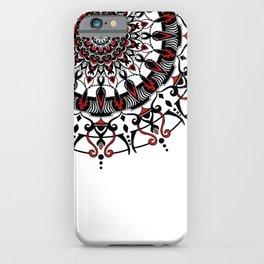 Crimson Caravan iPhone Case