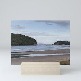 Coastal landscape Mini Art Print