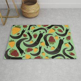 Salmon Slugs Rug