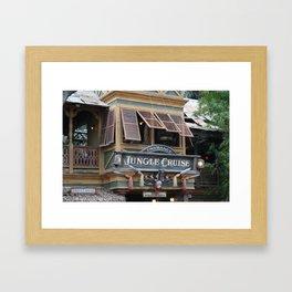 Jungle Cruise Framed Art Print