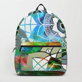 Atmospheric Mandala 0354 Backpack