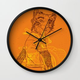 Fantastic Mr. Fox - 2010 Wall Clock
