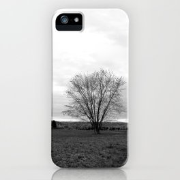 Lone Tree. iPhone Case